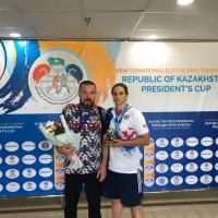 Елена Гапешина выиграла серебро на турнире в Казахстане