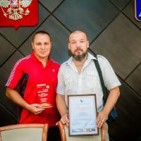 Руслан Давиденко и Александр Шведюк  получили награды ко Дню Физкультурника