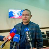 Представление спортивному сообществу вновь назначенного президента Федерации - Курсеитова Ленура Серверовича